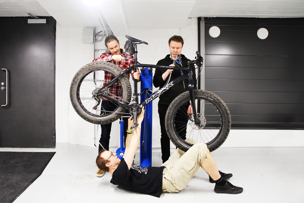 Tuomas, Timo and Jaakko from Evermade